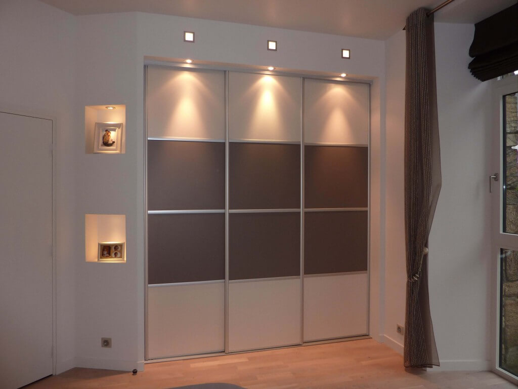 Dressing, niches lumineuses